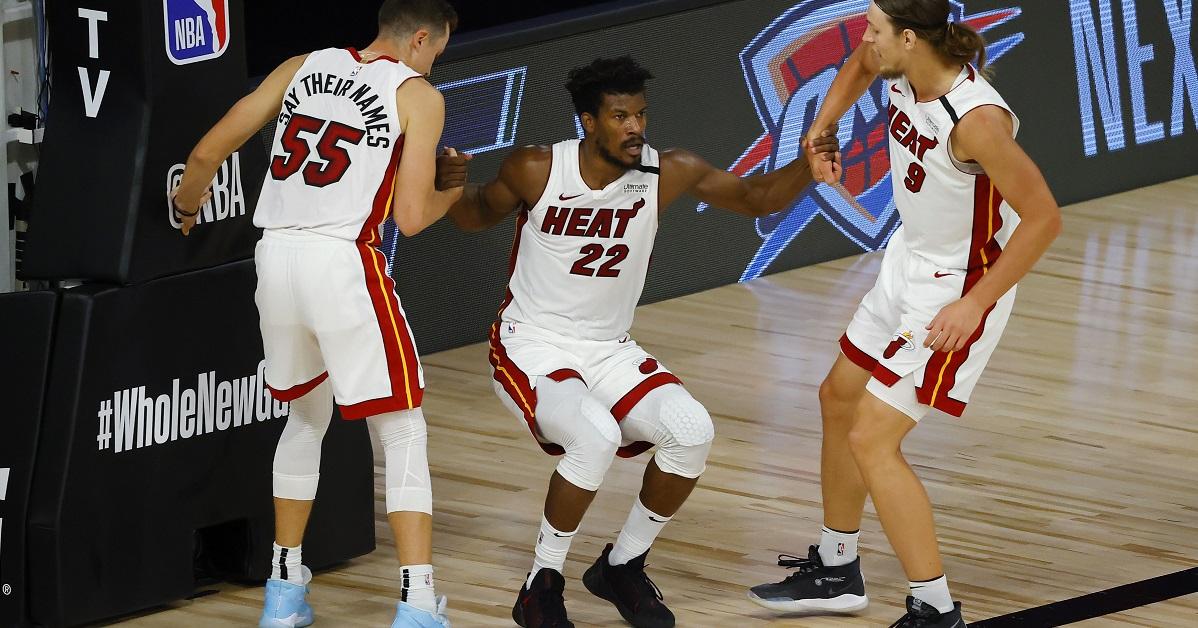 Miami Heat v Denver Nuggets