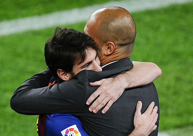 Synku, chodź do mnie i pomóż mi wygrać tę cholerną Ligę Mistrzów. Jak Messi może zbawić Guardiolę