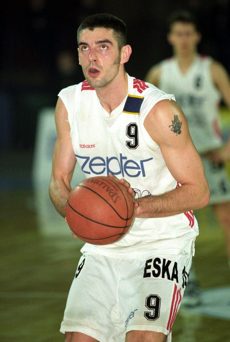 Koszykowka. M, Ekstraklasa. Zepter Slask Wroclaw - Ericsson Bobry Bytom. 70 - 68. 14.02.1998
