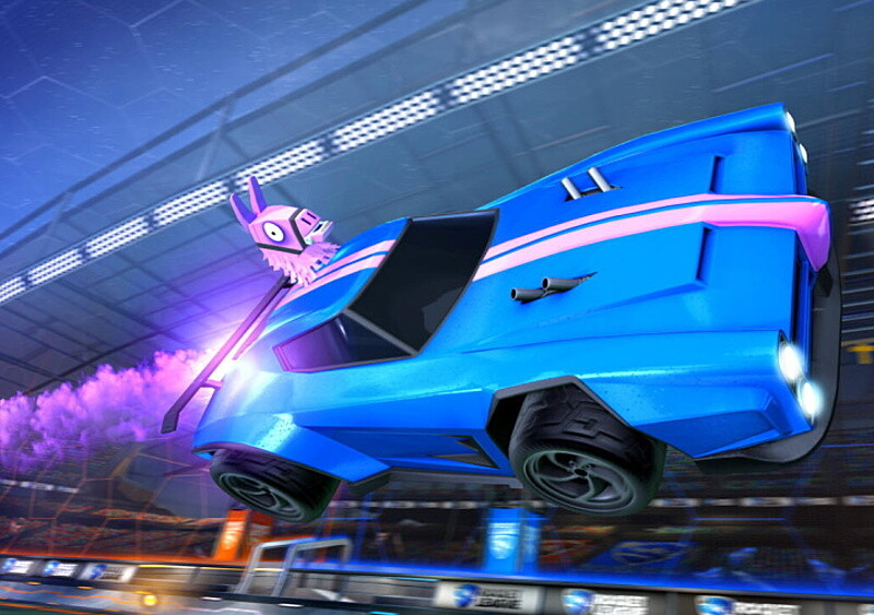 Rocket League przechodzi na model free-to-play i z tej okazji crossuje się z... Fortnite