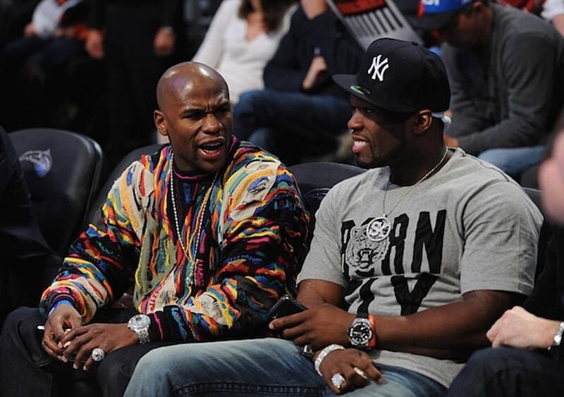 Konflikt między 50 Centem a Floydem Mayweatherem rozgorzał na nowo. Tak ostro jeszcze nie było.
