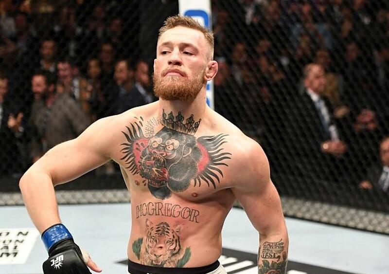 Conor McGregor atakuje 50 Centa. Tym razem poszło o cycki
