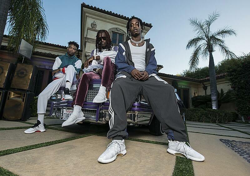 Playboi Carti, Young Thug i 21 Savage oszaleli w najnowszej kampanii adidas Originals