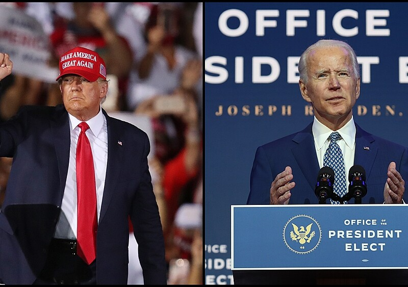 Dokąd pójdzie Ameryka pod rządami Joe Bidena? W co pogrywa Donald Trump? Pogadaliśmy o tym w newonce.radio