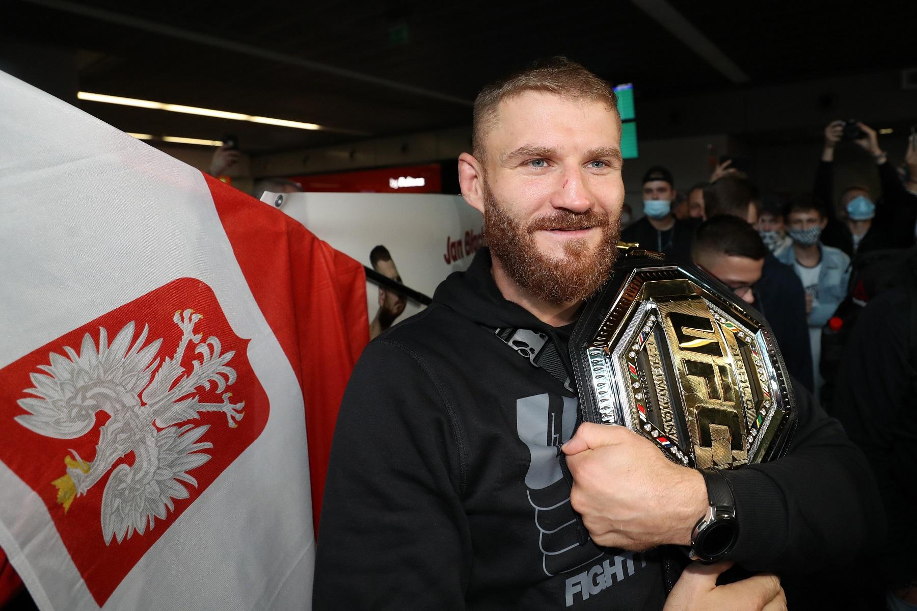 MMA. UFC 253. Jan Blachowicz. Przylot do Polski. 28.09.2020