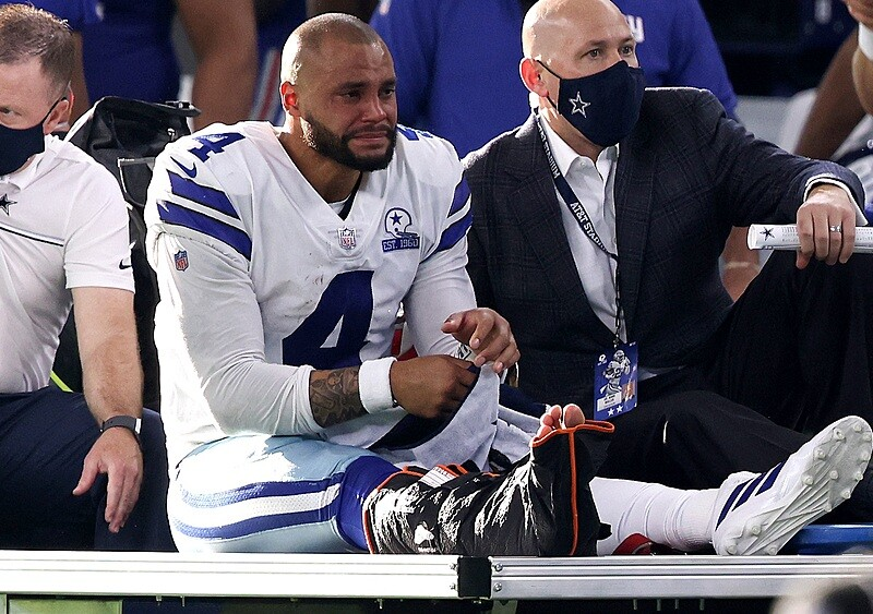 Kontuzja, która zdominuje dalszą część sezonu Dallas Cowboys. Jaka przyszłość czeka Daka Prescotta?