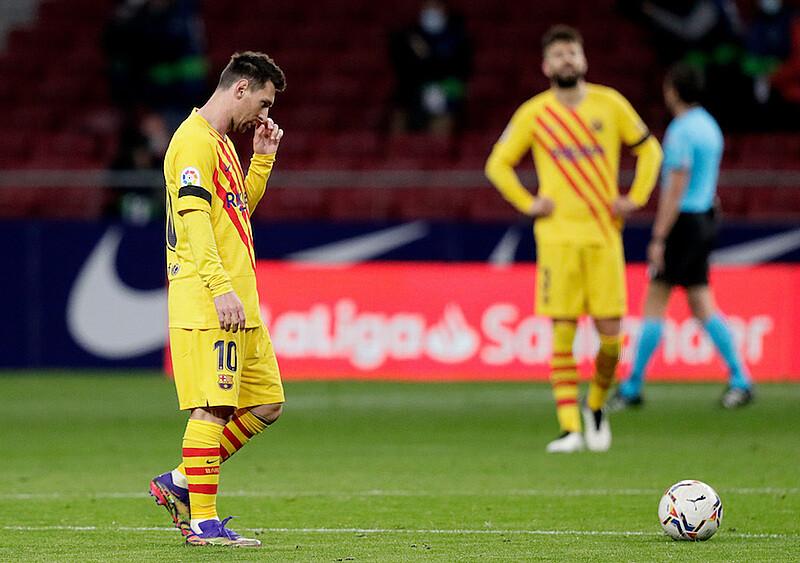 Barcelona bez charakteru i wyrazu. Szatnia, która milczy w trudnych chwilach