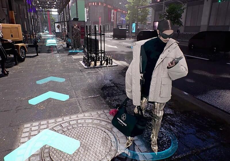 Balenciaga prezentuje najnowszą kolekcję poprzez grę wideo. Tak wygląda przyszłość mody?
