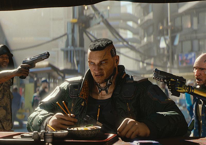 Paweł Jumper w Cyberpunku 2077? Dobrze widzicie, a to nie koniec ciekawych easter eggów
