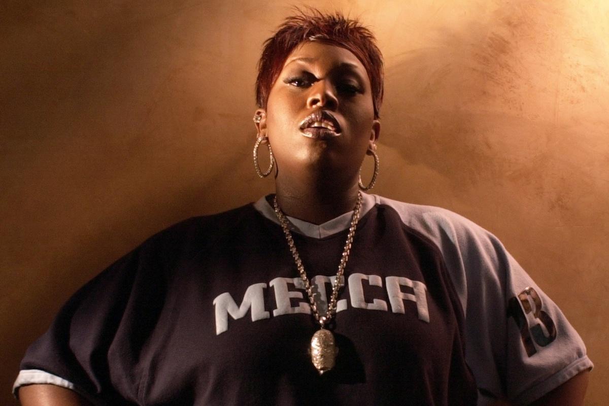 "Rapper Missy Elliott, whose album ""Miss E...So Addictive"" is"