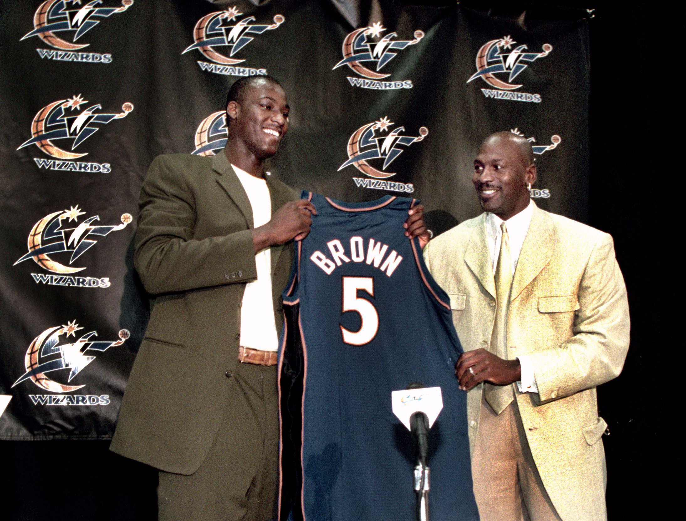 Kwame Brown i Michael Jordan