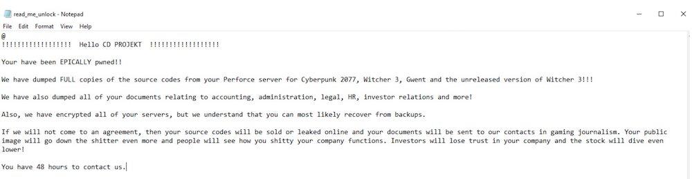 CDPR hakerzy