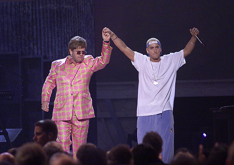 20 lat temu Eminem wystąpił z Eltonem Johnem na gali Grammy - dlaczego to tak ważne wydarzenie?
