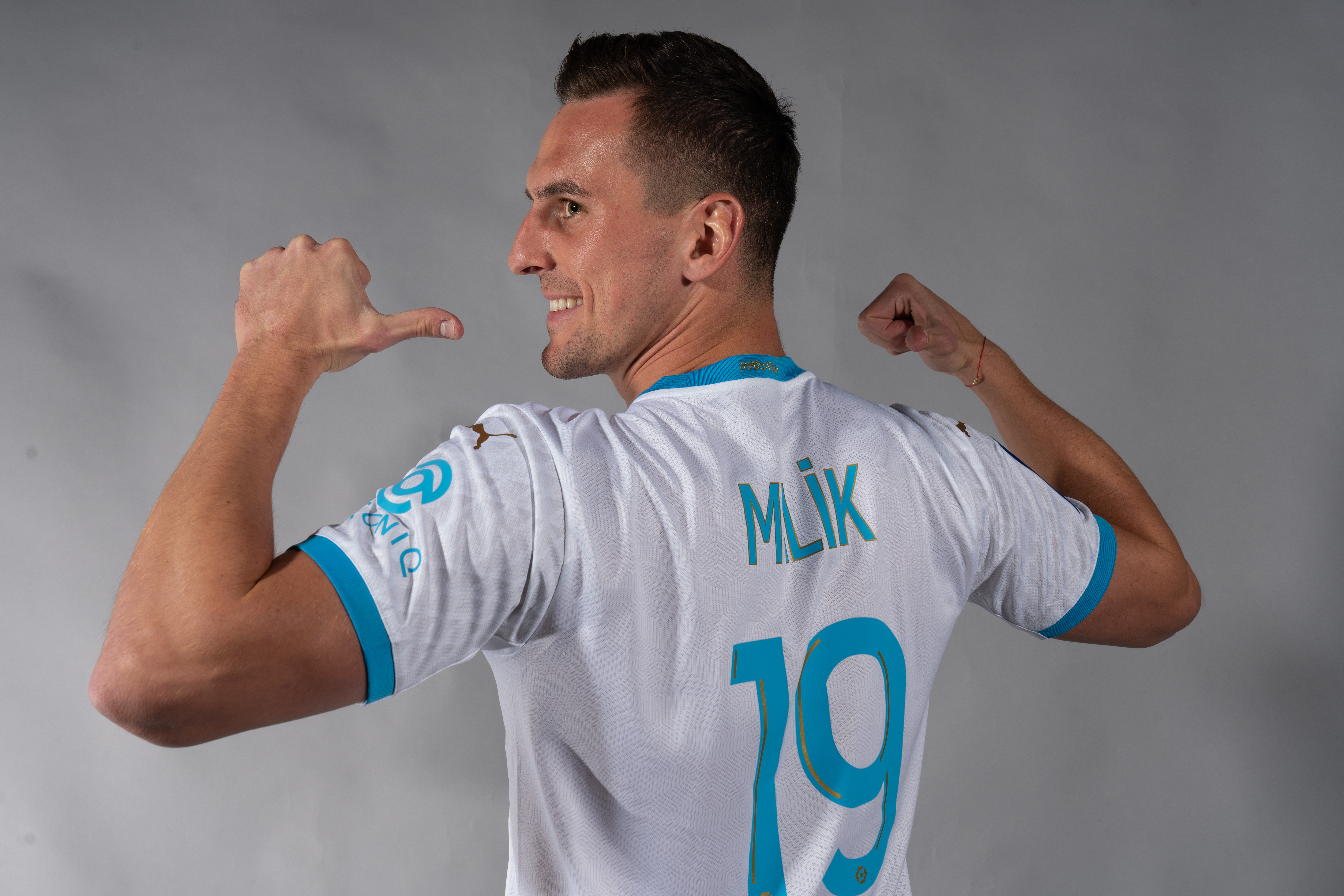 Olympique de Marseille Unveil New On Loan Signing Arkadiusz Milik