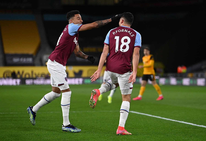 Wolverhampton v West Ham: Jesse Lingard i Pablo Fornals