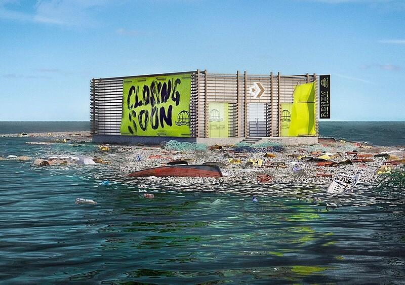 Converse otworzył sklep na Wielkiej Pacyficznej Plamie Śmieci. A dlaczego?!