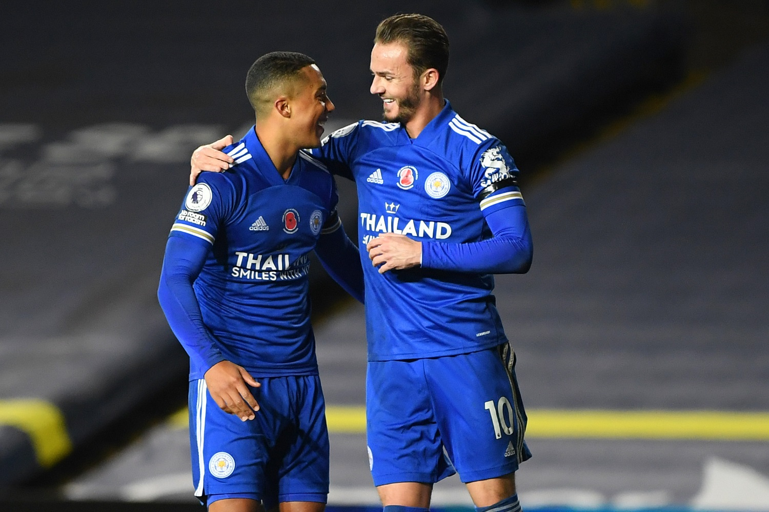 Leicester City - Youri Tielemans i James Maddison