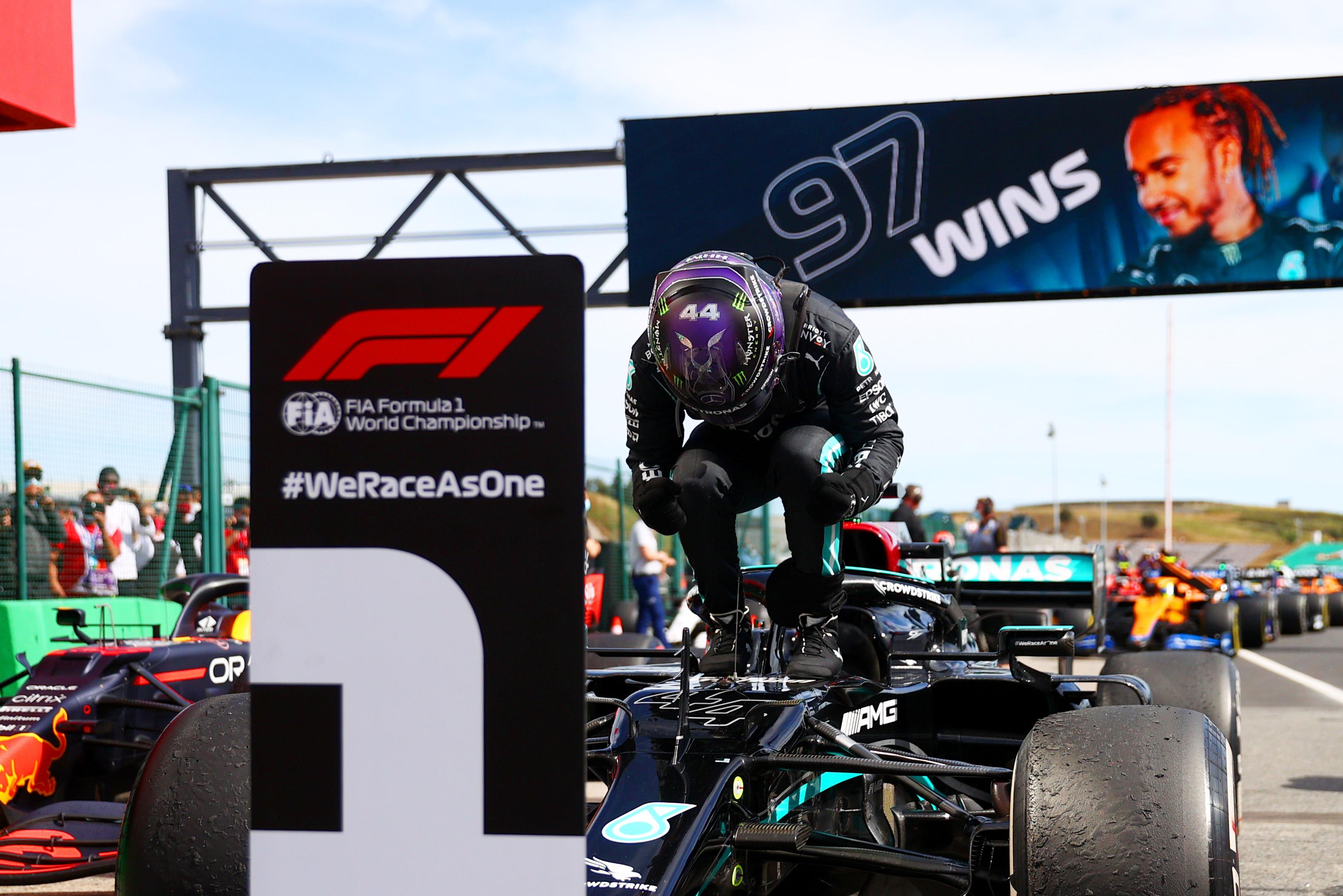 F1 Grand Prix of Portugal: Lewis Hamilton