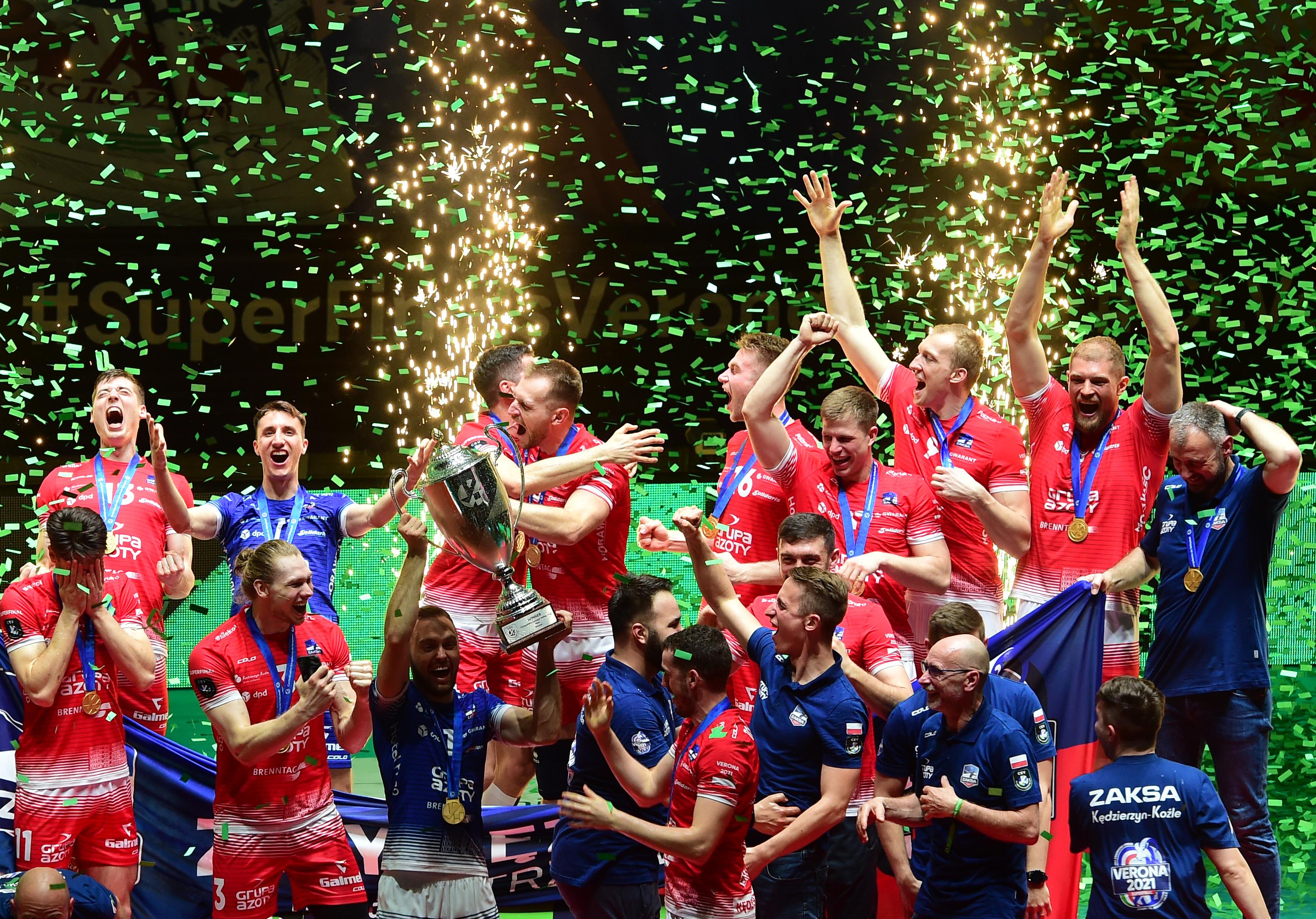 Trentino Itas v Grupa Azoty ZAKSA Kędzierzyn-Koźle - CEV Champions League Super Finals