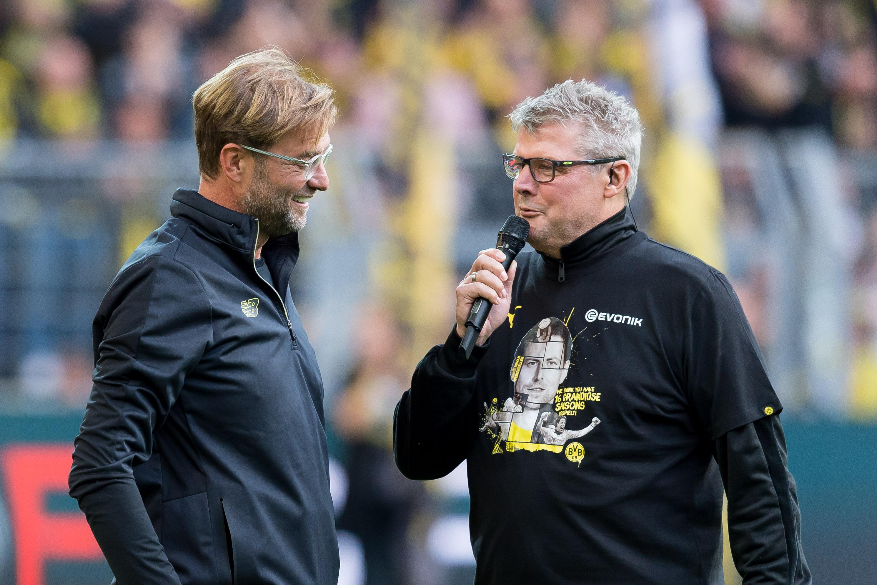 Spiker Borussii Dortmund i Juergen Klopp