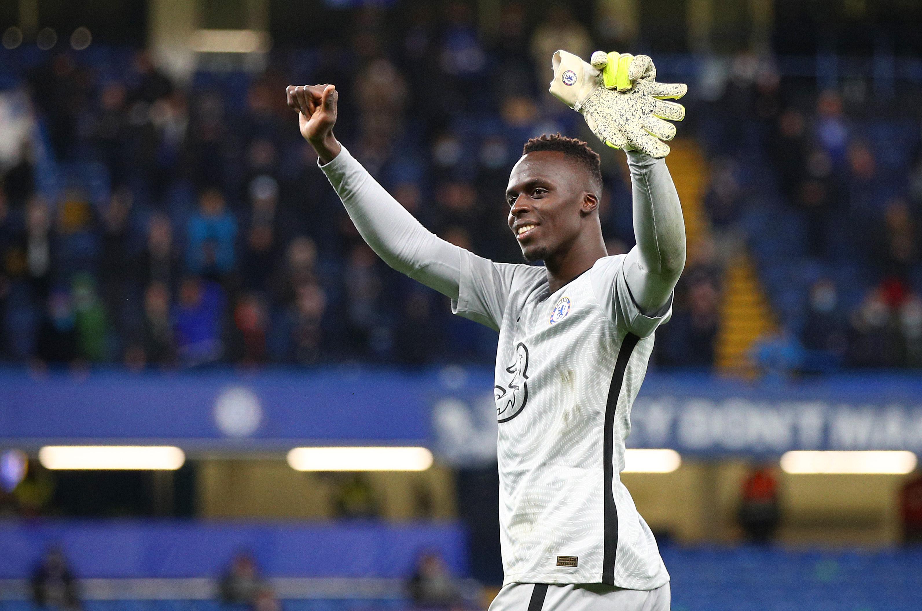 Chelsea v Leicester City - Premier League: Edouard Mendy