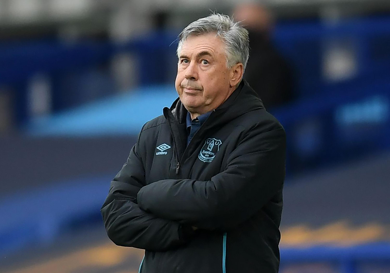 Carlo Ancelotti: Everton FC v Southampton FC - Premier League