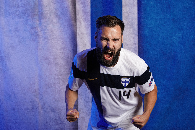 Tim Sparv - Finlandia. Portraits - UEFA Euro 2020