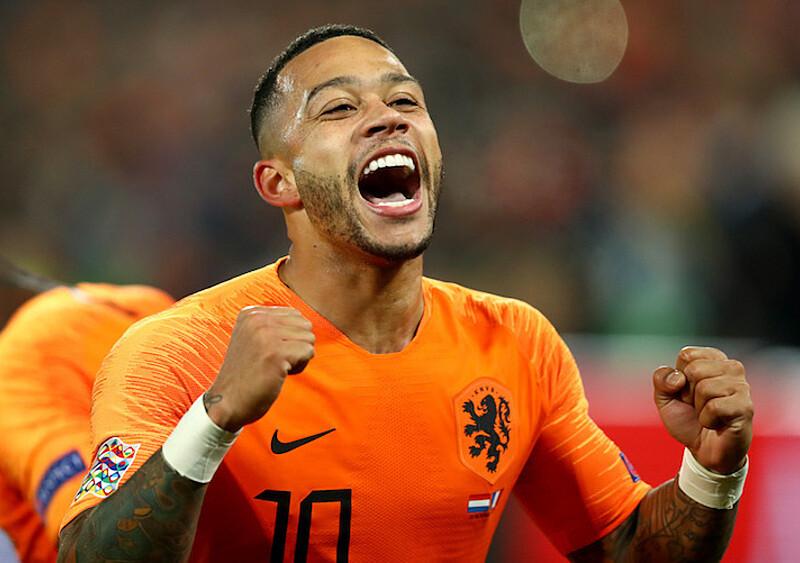 Najlepszy raper spośród piłkarzy grających na Euro 2020? Memphis Depay!