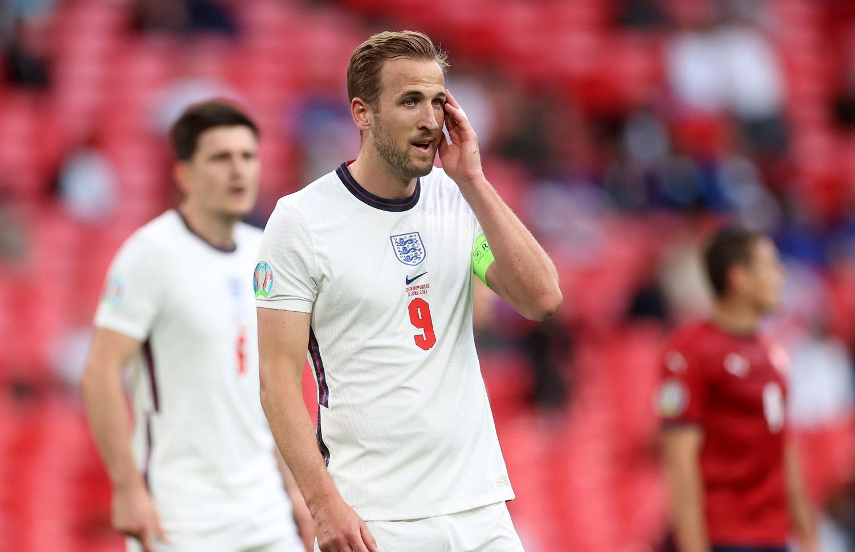 Harry Kane. Euro 2020. Czechy - Anglia