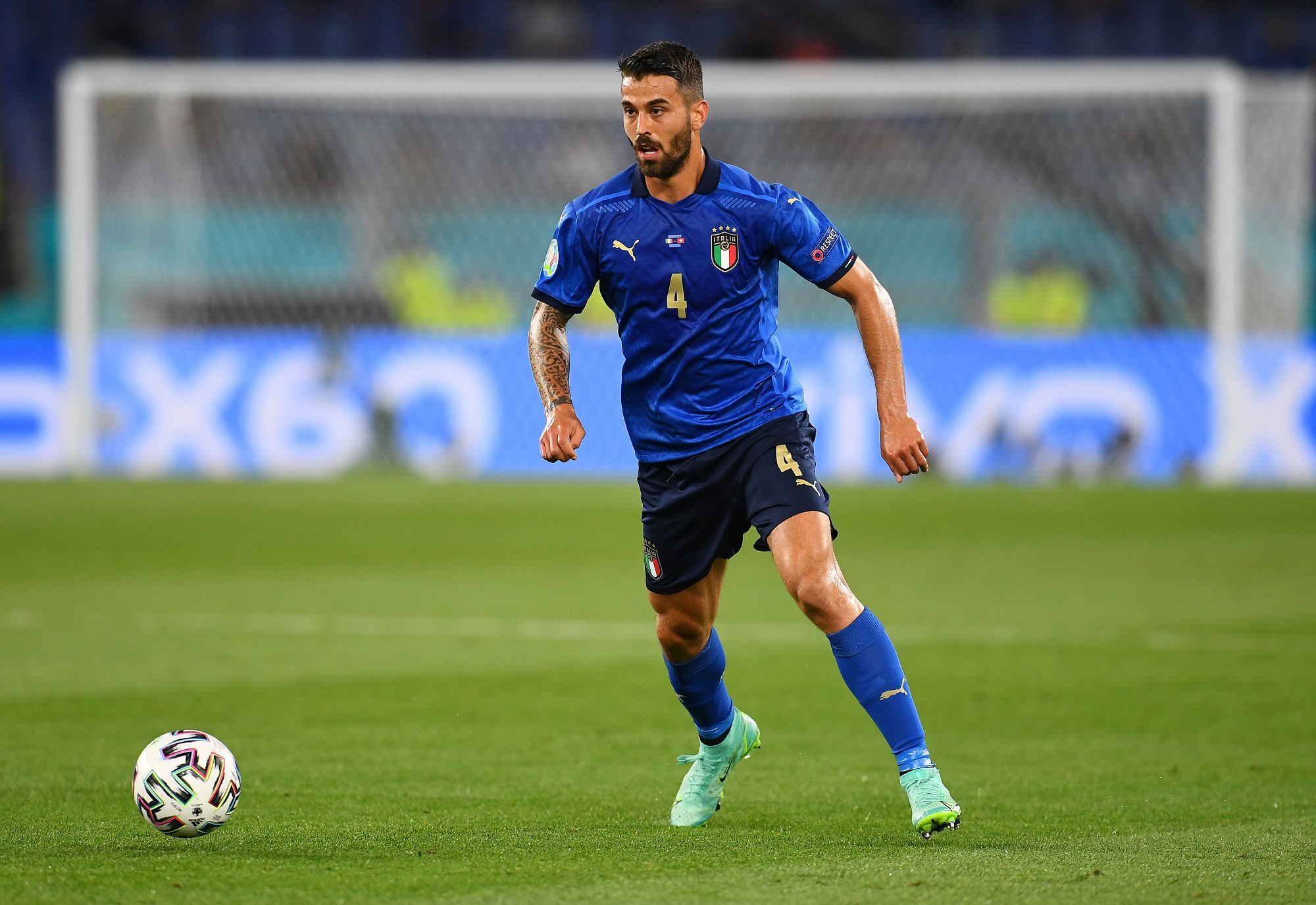 EURO 2020. Włochy - Leonardo Spinazzola