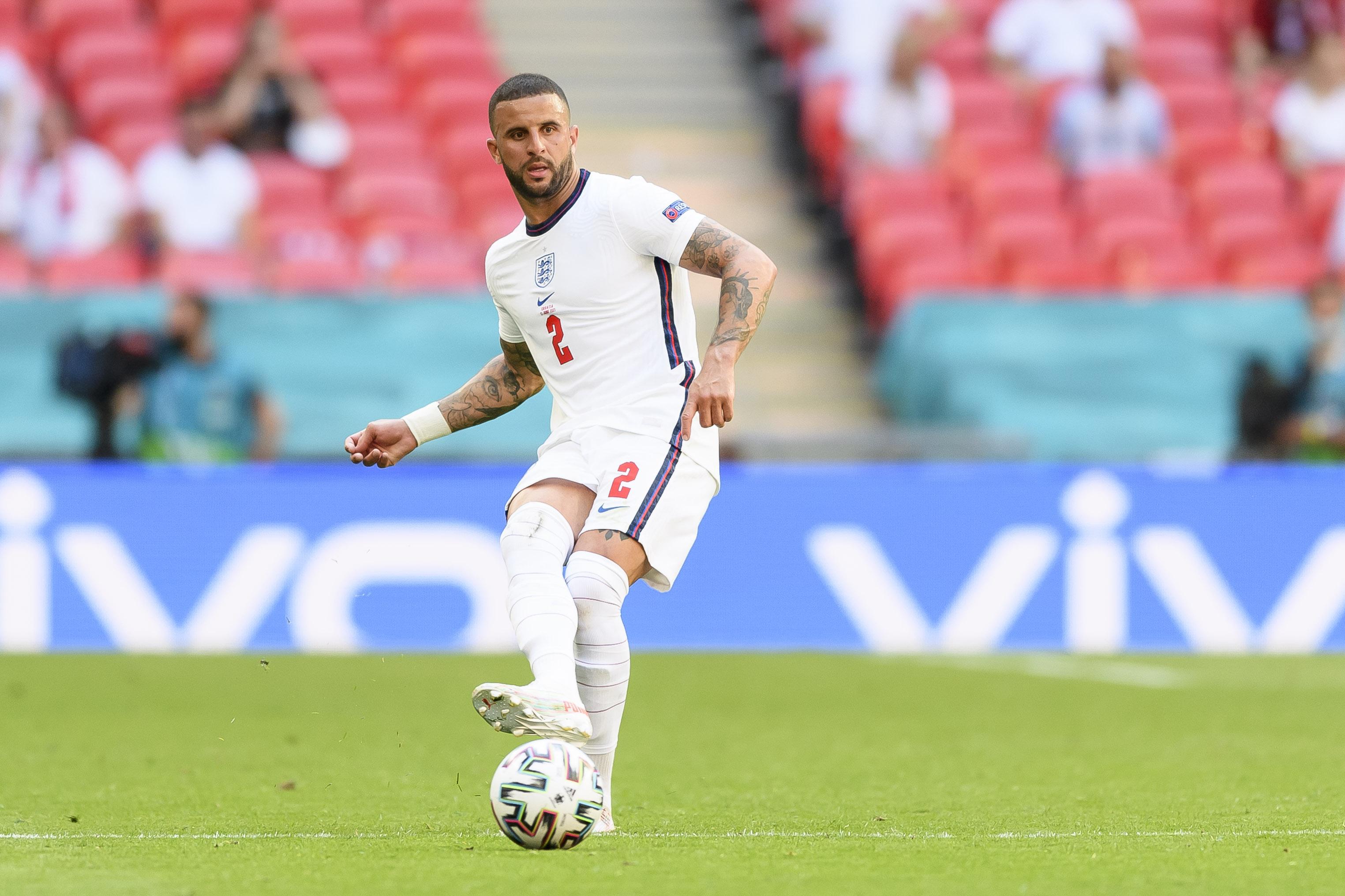 EURO 2020. Anglia - Kyle Walker