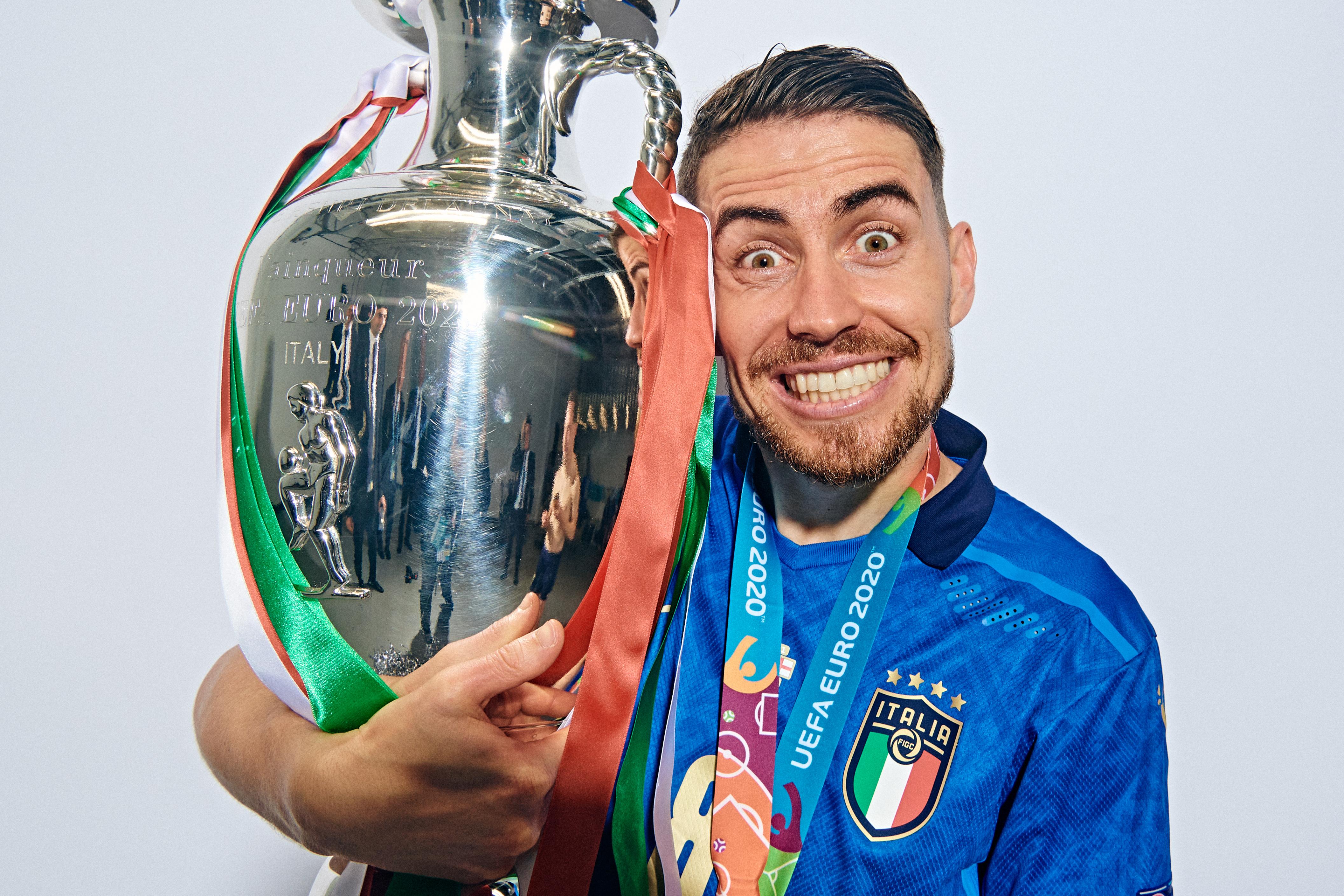 Italy Champions Portraits - UEFA Euro 2020: Final