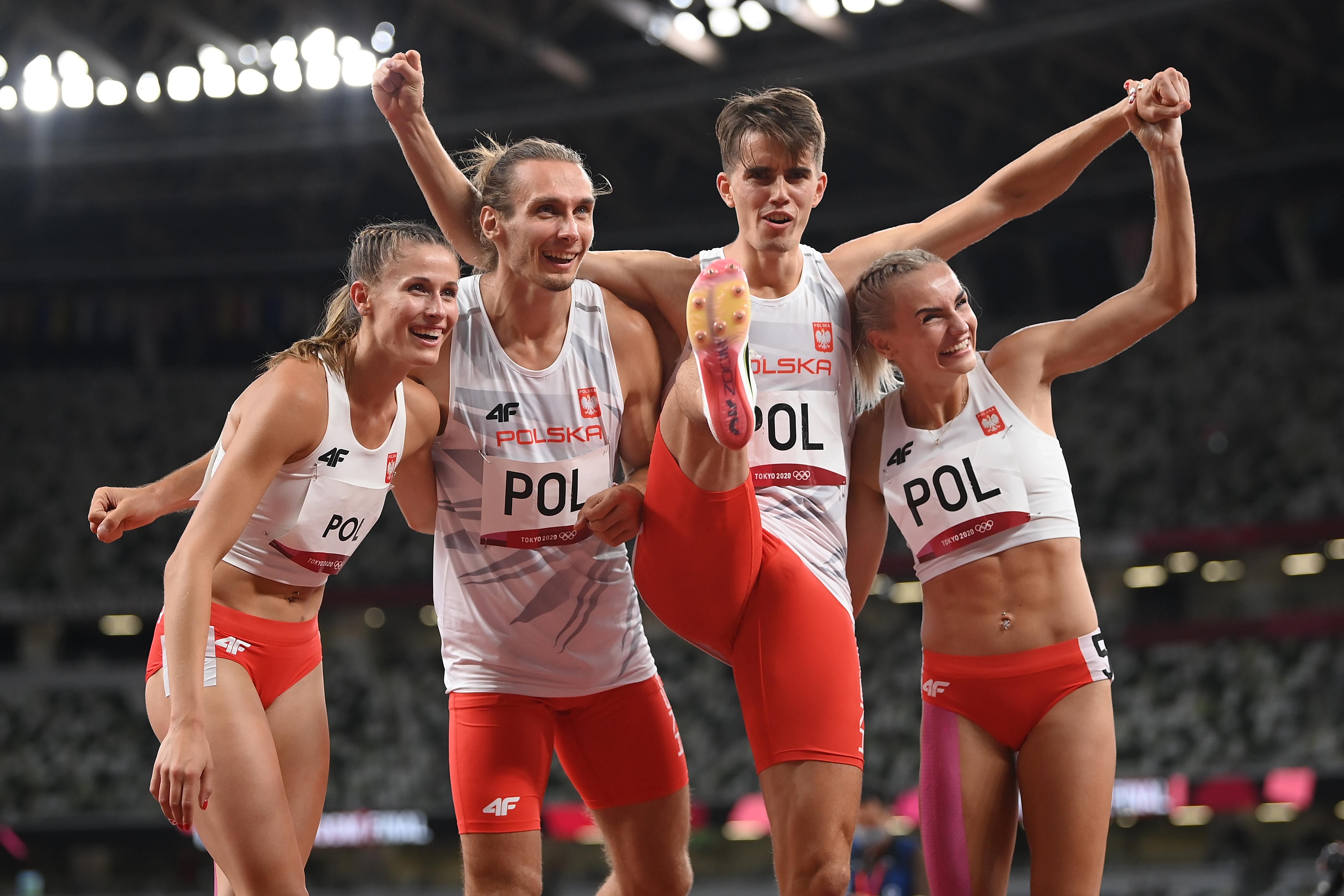 Igrzyska olimpijskie Tokio - Polska sztafeta mieszana