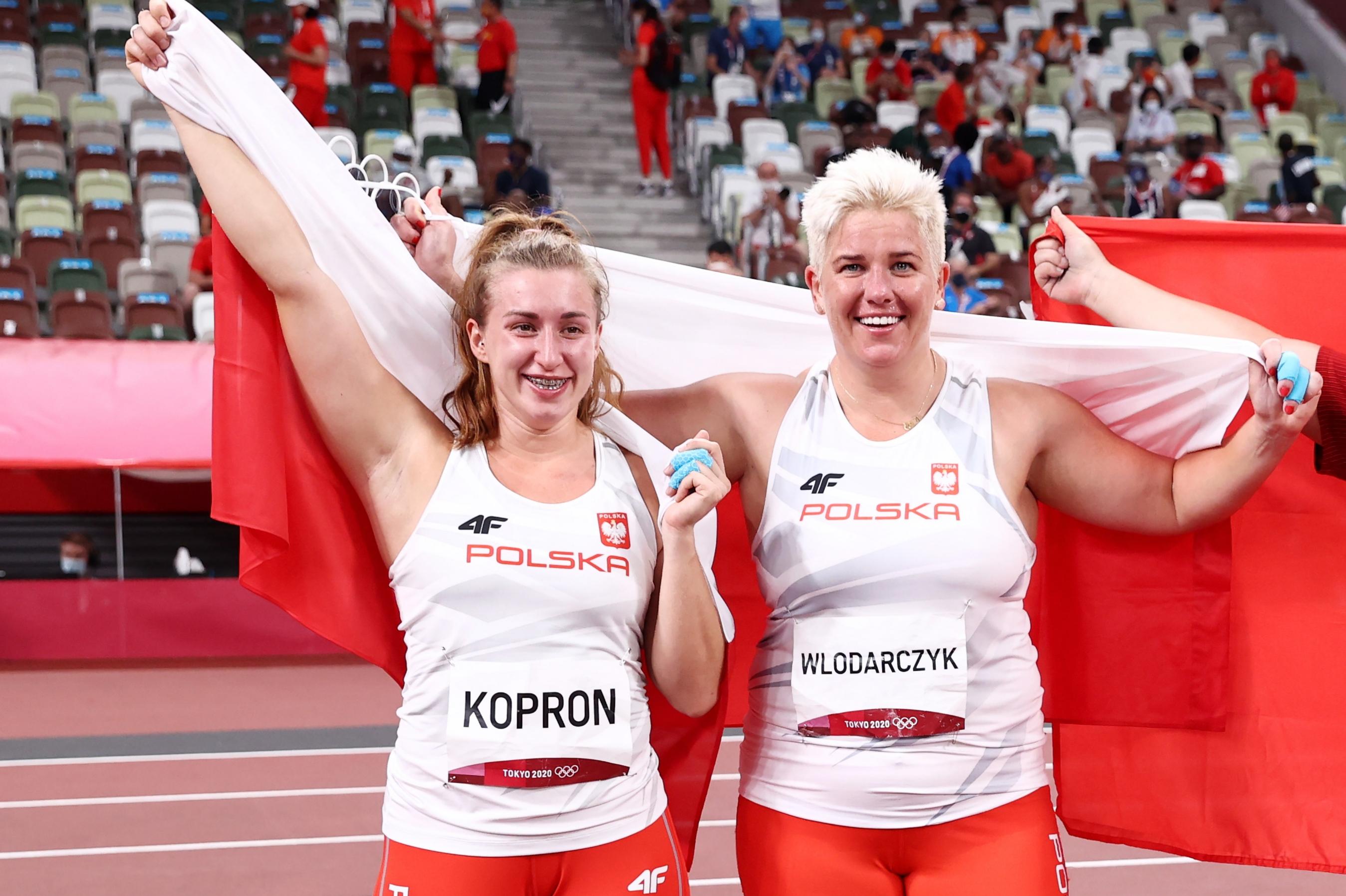 Igrzyska olimpijskie Tokio - Anita Włodarczyk i Malwina Kopron