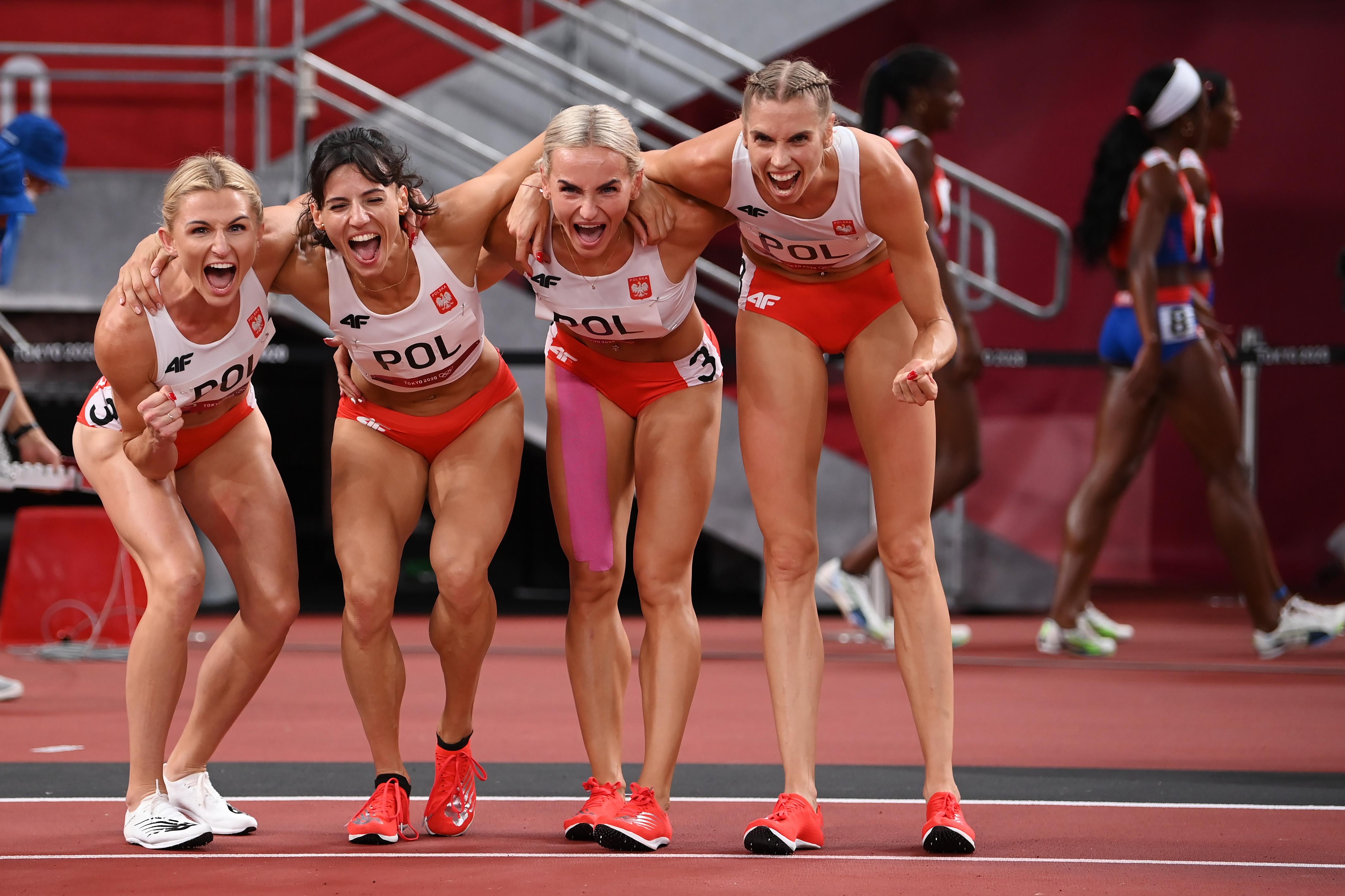 Igrzyska olimpijskie Tokio - Justyna Święty-Ersetic, Iga Baumgart-Witan, Małgorzata Hołub-Kowalik, Anna Kiełbasińska