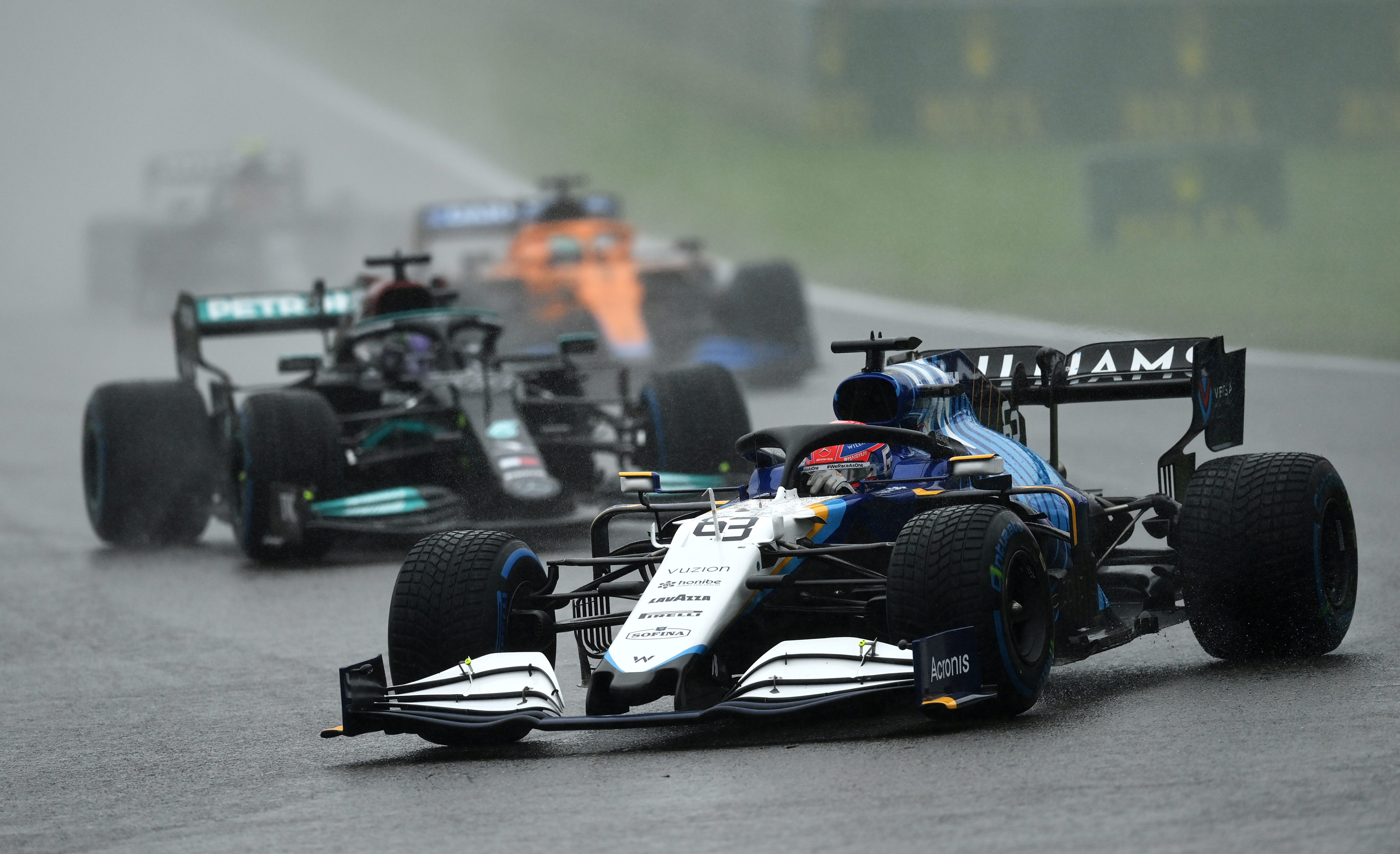 F1 Spa: George Russell