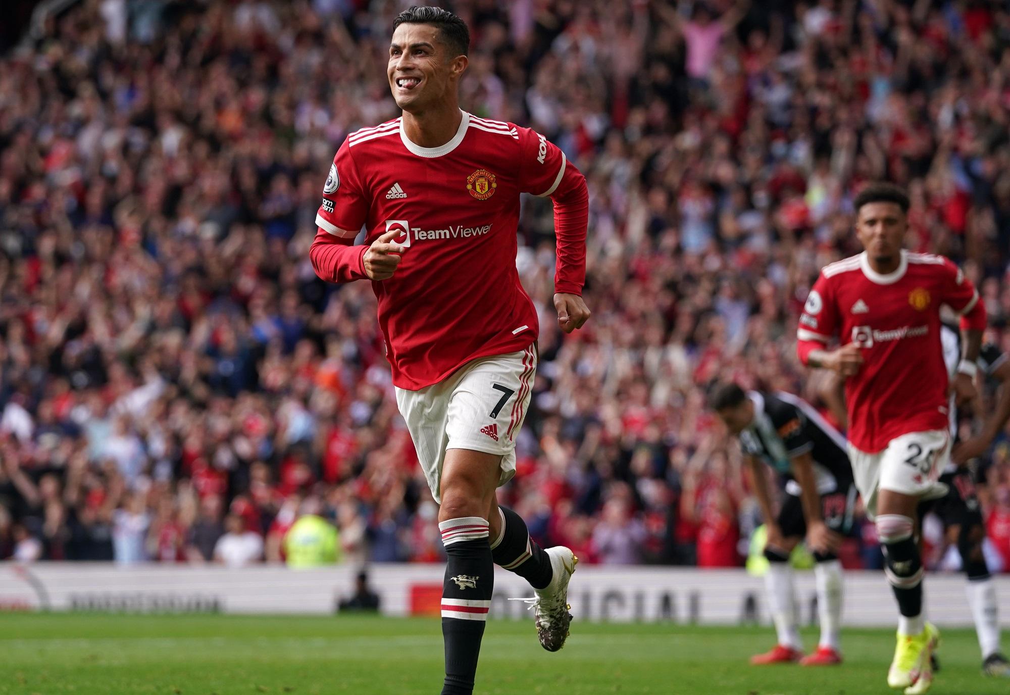 Cristiano Ronaldo - Manchester United v Newcastle United - Premier League - Old Trafford
