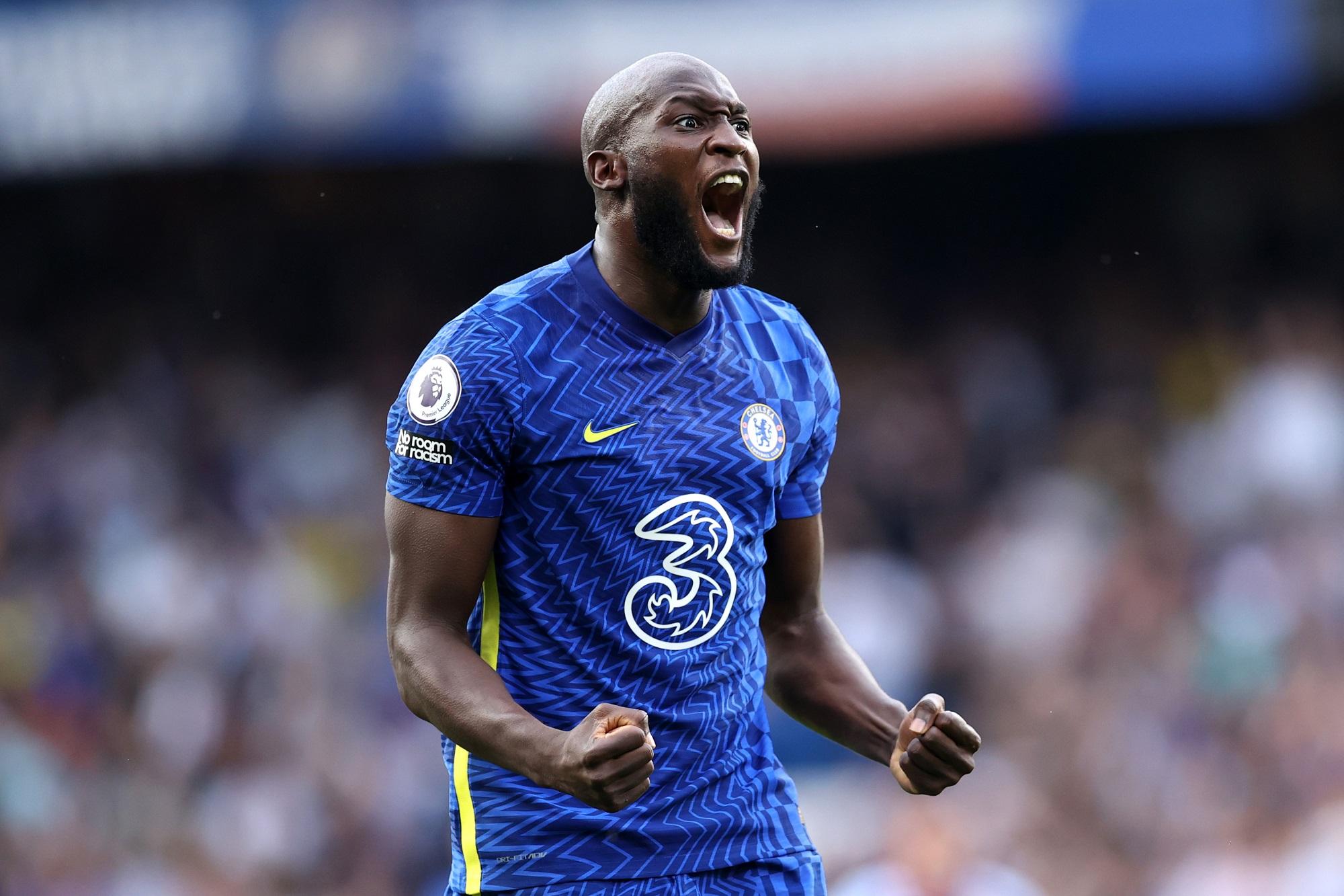 Romelu Lukaku - Chelsea v Aston Villa - Premier League