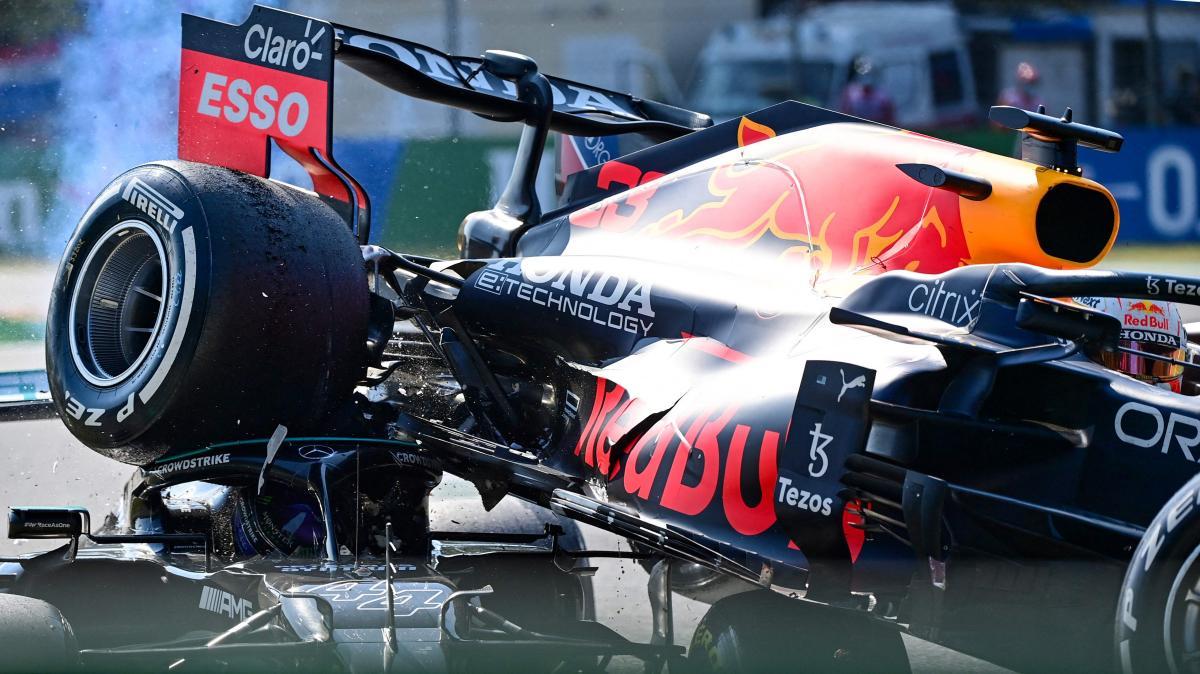 Lewis Hamilton i Max Verstappen - Grand Prix Włoch - Monza