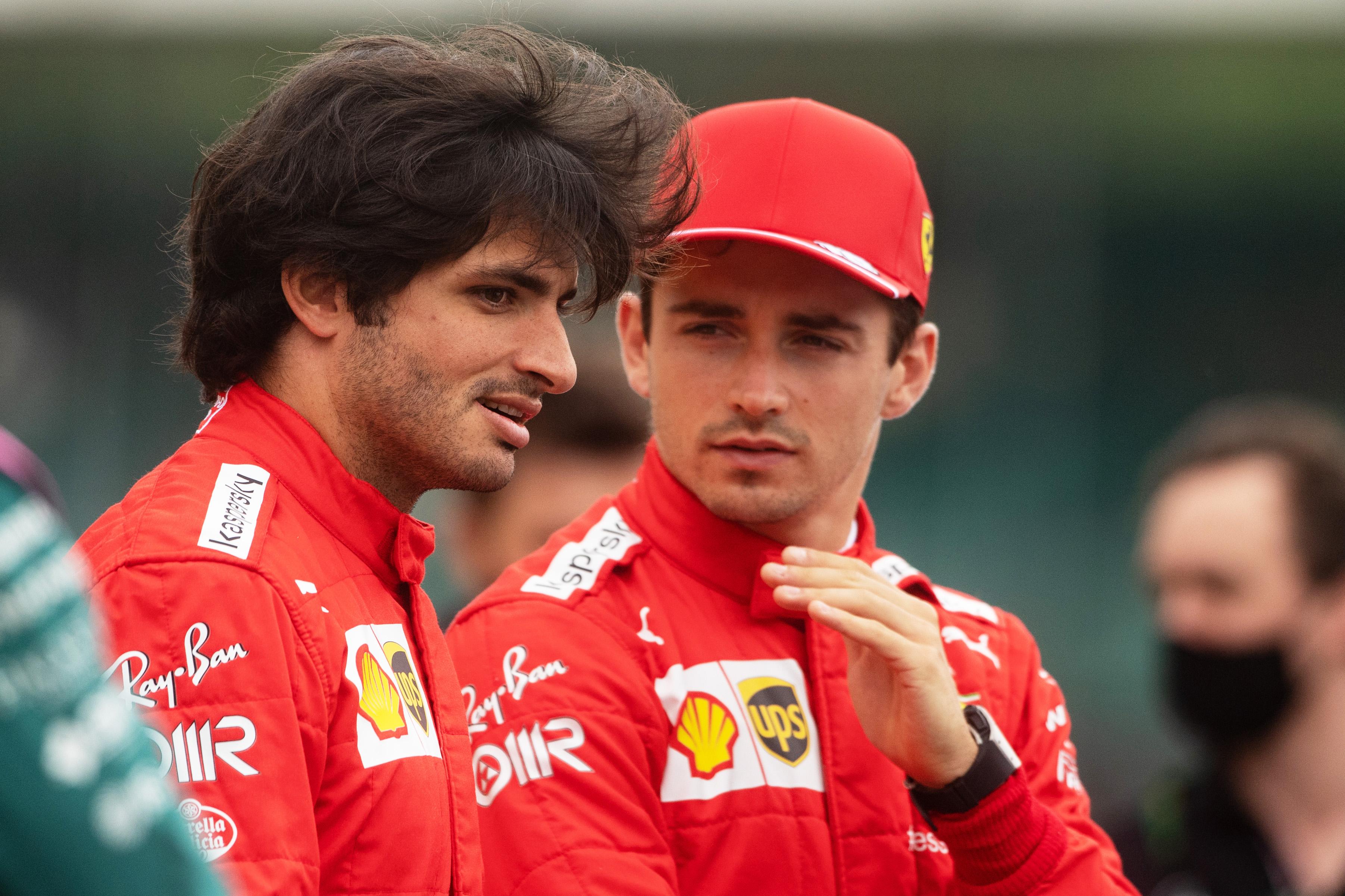 Carlos Sainz i Charles Leclerc - Ferrari