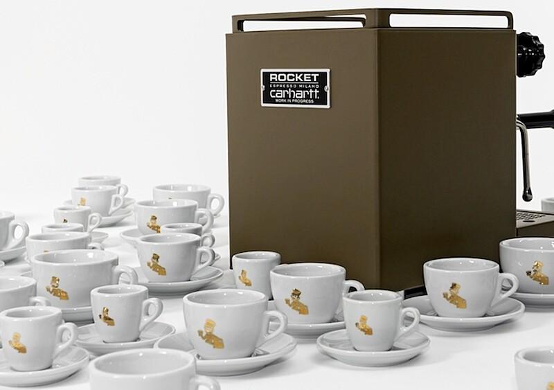 Carhartt WIP z nietypową propozycją na Gwiazdkę - marka stworzyła... ekspres do kawy
