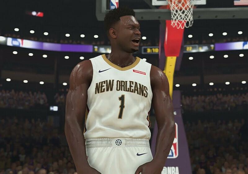 Zion Williamson z kolejnym kontraktem. Został twarzą NBA 2K20