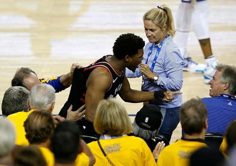 Współwłaściciel Golden State Warriors zrobił niezłą trzodę i... dostał roczny zakaz pojawiania się na meczach NBA