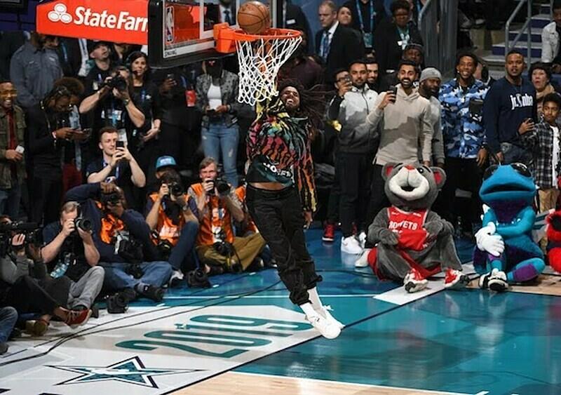 Wszystkie momenty, w których rap przecinał się z koszem podczas tegorocznego NBA All-Star Weekend