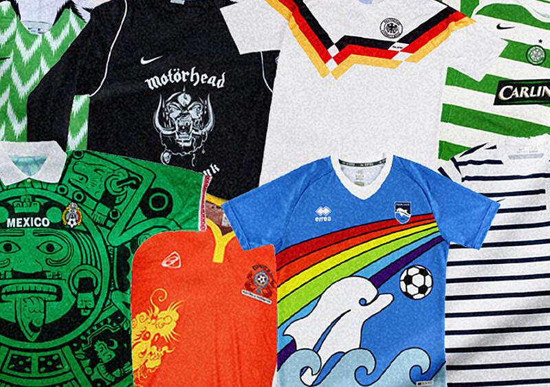 Razem z newonce.sport wybraliśmy koszulki piłkarskie, za którymi kryją się ciekawe historie